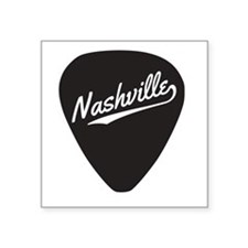Nashville Guitar Pick Sticker