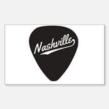 Nashville Guitar Pick Decal