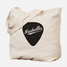 Nashville Guitar Pick Tote Bag