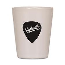 Nashville Guitar Pick Shot Glass