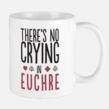There's No Crying In Euchre Mugs