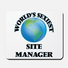 World's Sexiest Site Manager Mousepad