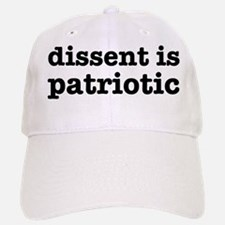 Dissent Is Patriotic Baseball Baseball Cap