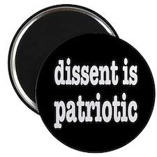 """Dissent Is Patriotic 2.25"""" Magnet (10 pack)"""
