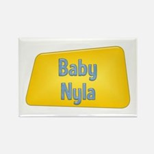 Baby Nyla Rectangle Magnet
