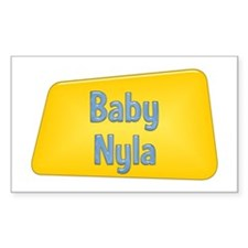 Baby Nyla Rectangle Decal