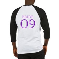 Bride 09 - Purple Baseball Jersey