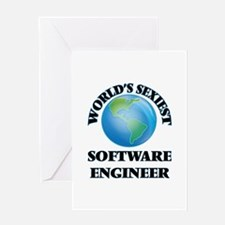 World's Sexiest Software Engineer Greeting Cards
