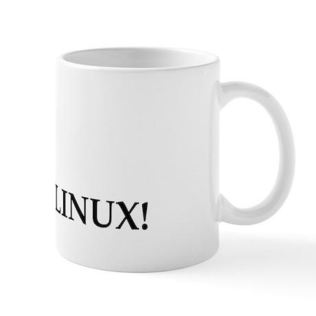 Adicted To Linux Mug