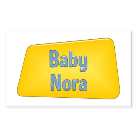 Baby Nora Rectangle Sticker