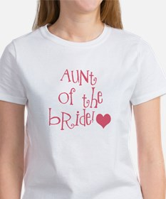 Aunt of the Bride Women's T-Shirt