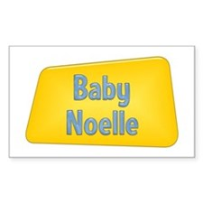 Baby Noelle Rectangle Decal