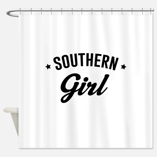 Souther girl Shower Curtain