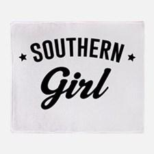 Souther girl Throw Blanket