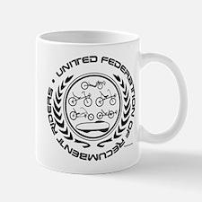 United Federation of Recumbent Riders Mugs