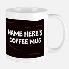 Personalized With Name Coffee Mugs