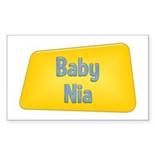 Baby Nia Rectangle Decal