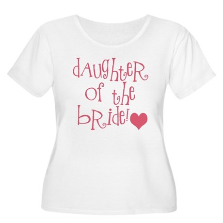 Daughter of the Bride Women's Plus Size Scoop Neck