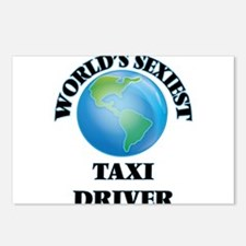World's Sexiest Taxi Driv Postcards (Package of 8)