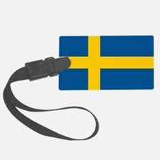 Sweden Flag Luggage Tag