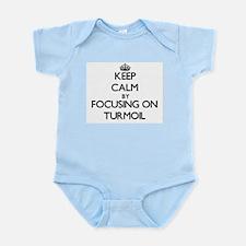 Keep Calm by focusing on Turmoil Body Suit