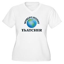World's Sexiest Thatcher Plus Size T-Shirt