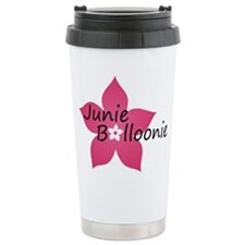 JB flower Travel Mug