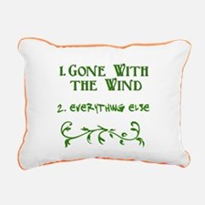 Gone With the Wind BEST Rectangular Canvas Pillow