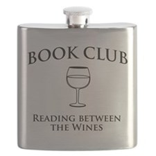 Book Club Reading Between The Wines. Flask