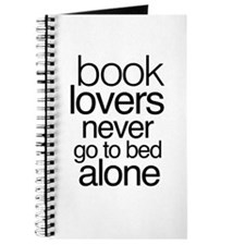 Book lovers never go to bed alone Journal