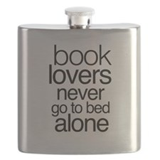 Book lovers never go to bed alone Flask