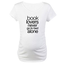 Book lovers never go to bed alone Shirt