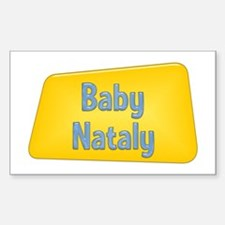 Baby Nataly Rectangle Decal