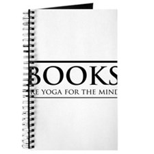 Books are yoga for the mind Journal