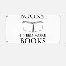 Books! I need more books. Banner