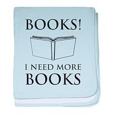 Books! I need more books. baby blanket