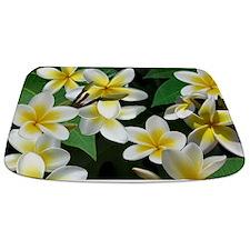 Plumeria Flowers Bathmat