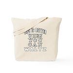 Waltz Dance Designs Tote Bag