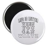 Waltz Dance Designs Magnet