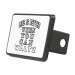 Waltz Dance Designs Rectangular Hitch Cover