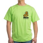 Feline Network Logo - Green T-Shirt