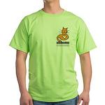 Feline Network Logo - Green T-Shirt