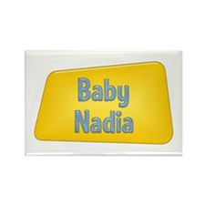 Baby Nadia Rectangle Magnet