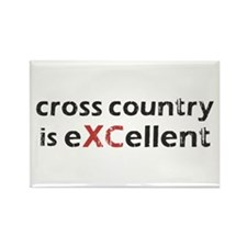Cross Country eXCellent Rectangle Magnet