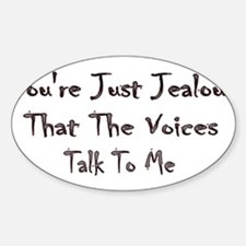 The Voices Oval Decal