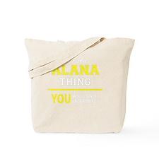 Funny Alana Tote Bag