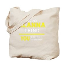 Funny Alanna Tote Bag
