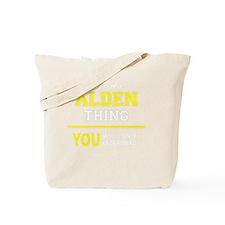 Cool Alden Tote Bag