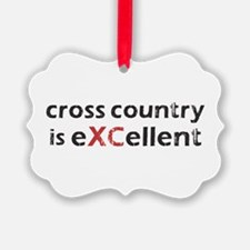 Cross Country eXCellent Ornament