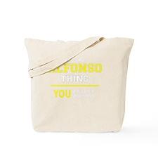 Funny Alfonso Tote Bag
